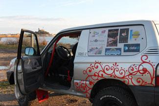 The 4x4 Toyota KZJ90 sponsored by Datakit