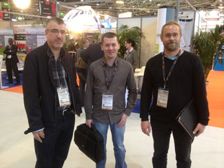 Datakit team at Industrie Lyon 2013