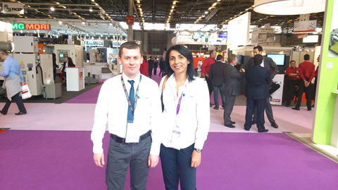 Datakit team at Industrie Paris 2014