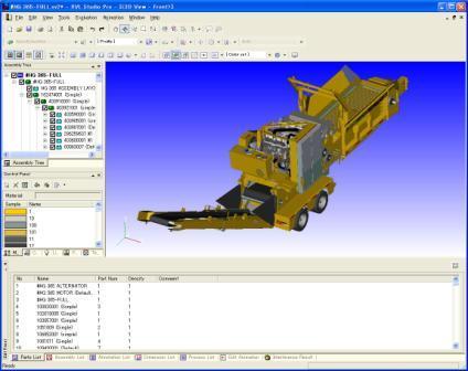 Lattice Technology Co, Ltd. intègre la technologie STEP de Datakit dans XVL Studio 7.1