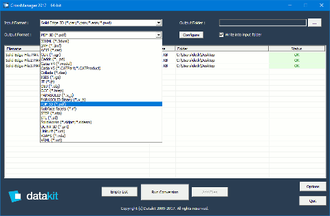 Solid Edge ST10 files conversion with CrossManager
