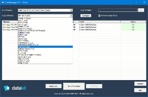 Conversion de fichiers Solid Edge ST10 avec CrossManager