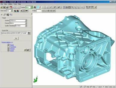 A complete process for cad data exchange solutions