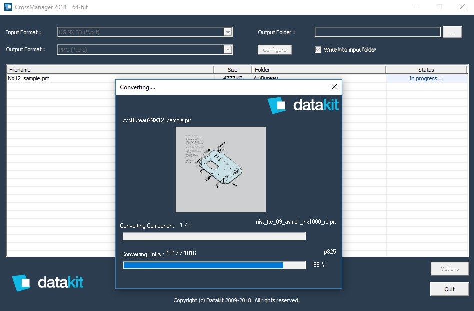 Datakit announces the version 2018.1 of its CAD conversion tools