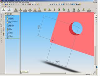 Integrating 2D-CAD data into a 3D model
