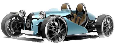 A small racy and elegant roadster which is offered in thermal and electric versions for less than 65 k €.