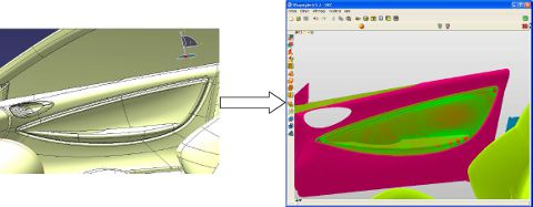 CATIA V5 import in Wrapstyler