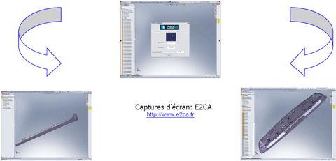 Capture conversions SolidWorks