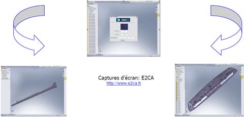 Capture conversions SolidWorks