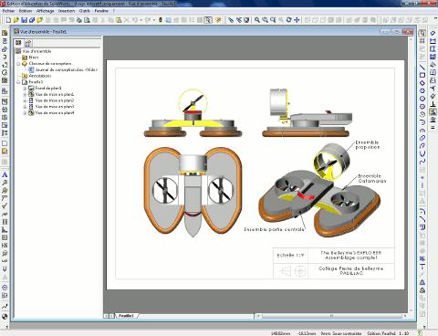 Modélisation de l'aéroglisseur sous SOLIDWORKS