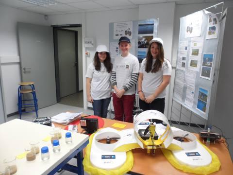 Présentation du projet et du prototype par les élèves