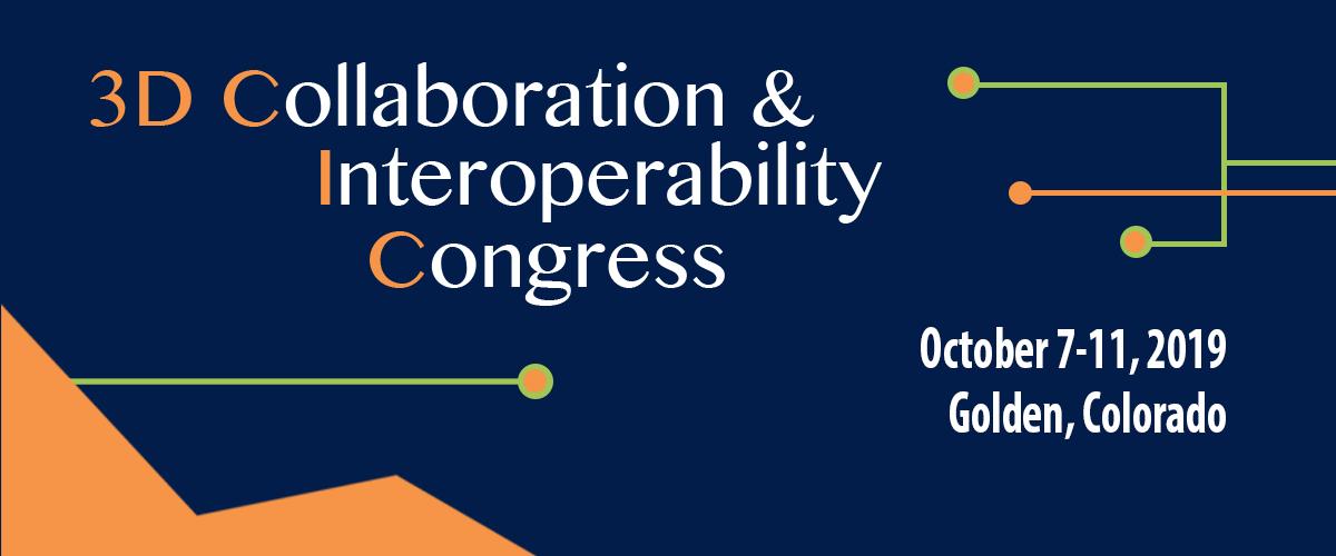 3D Collaboration & Interoperability Congress 2019
