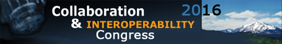 3DCIC 2016 - Collaboration & Interoperability Congress